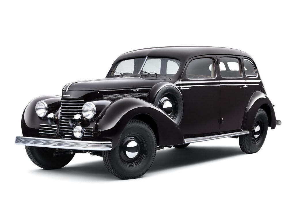 Škoda Superb 4000 1939 года