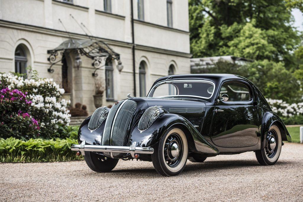 Купе Skoda Popular Monte Carlo 1936 года