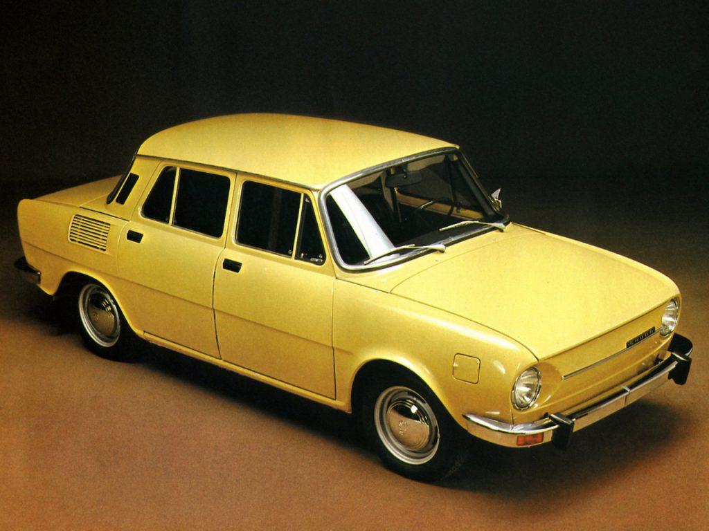 Skoda 100 1969 года