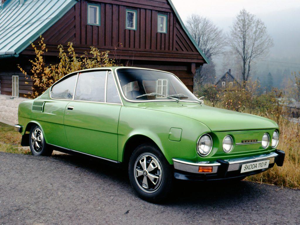 Skoda 110 R 1970 года