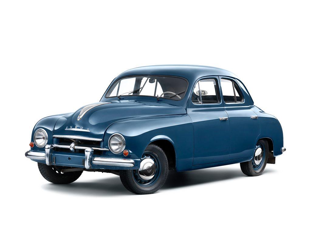 Skoda 1200 1952 года