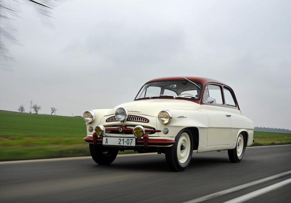 Skoda 440 1955 года