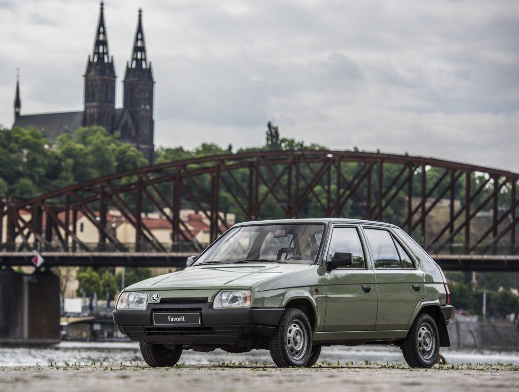 Skoda Favorit 1987 года с дизайном от Bertone