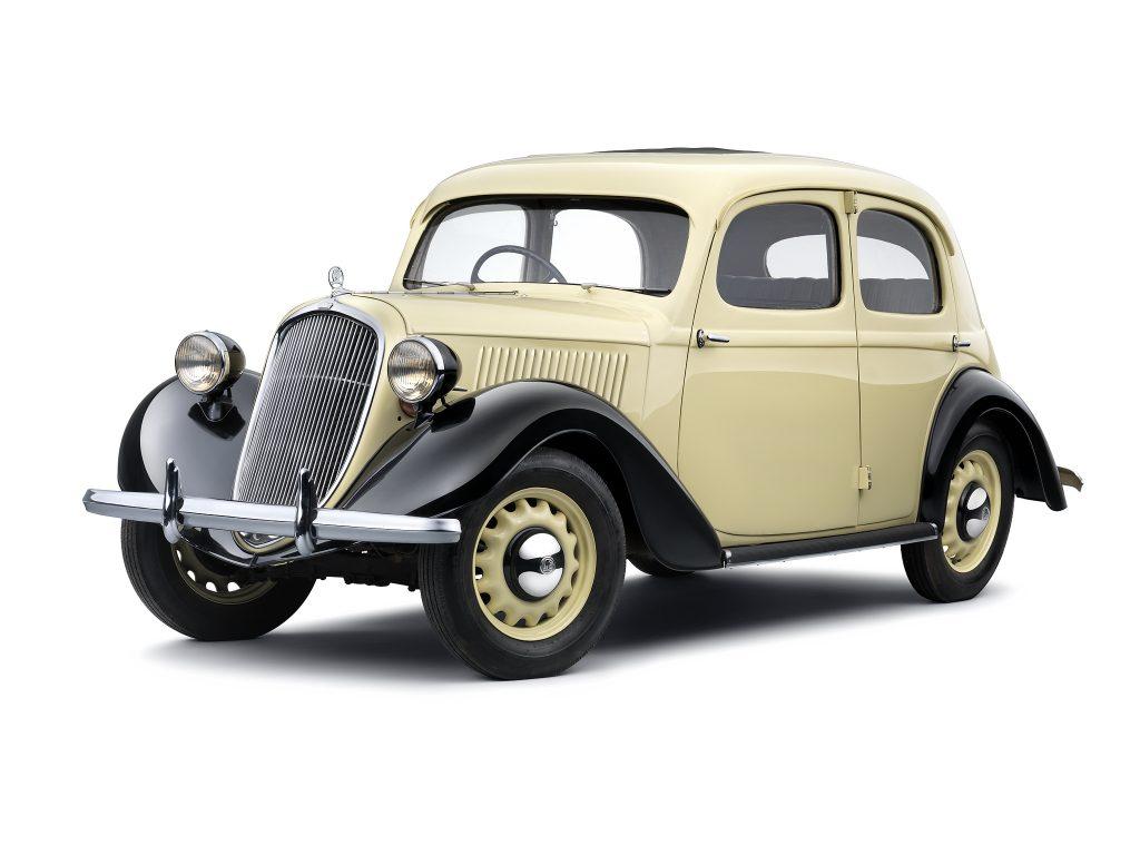 Skoda Rapid 1935 года