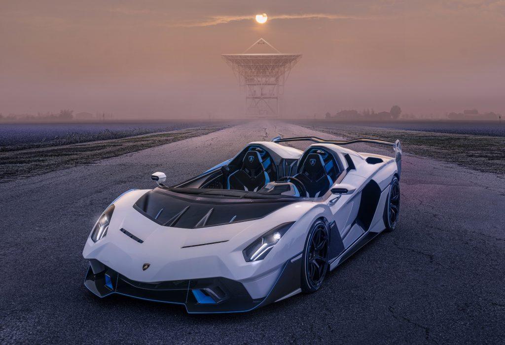 Lamborghini SC20 2020, вид спереди