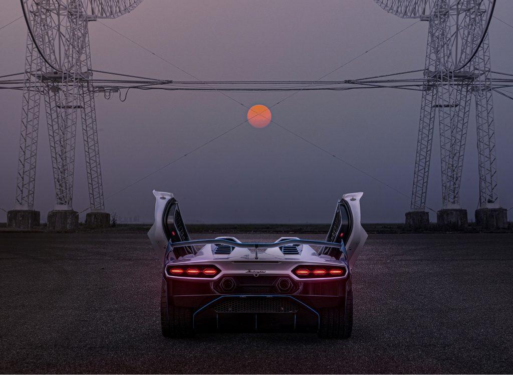 Lamborghini SC20 2020, вид сзади