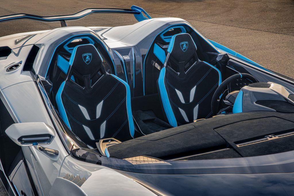 Lamborghini SC20 2020, салон