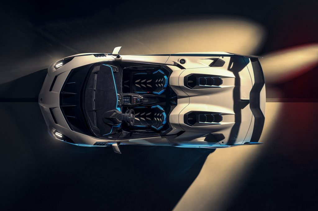 Lamborghini SC20, вид сверху