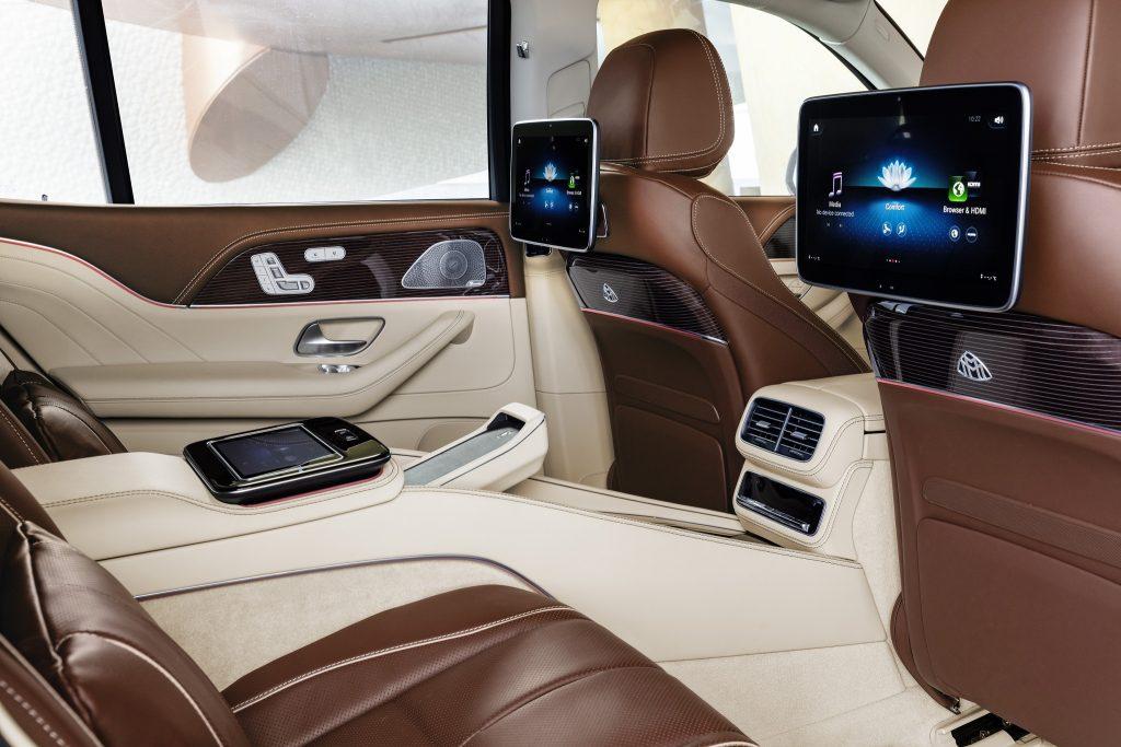 Новый Mercedes-Maybach GLS, салон