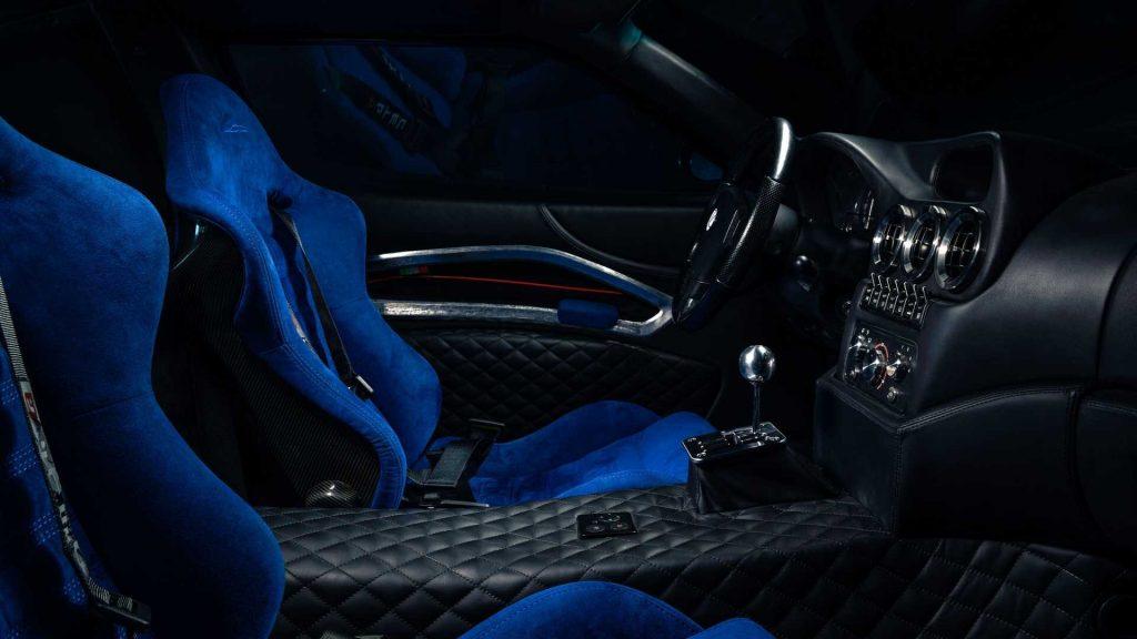 Ferrari Breadvan Hommage, сиденья