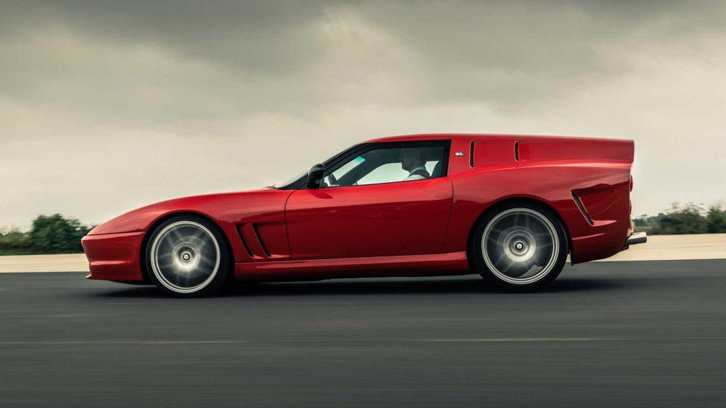 Ferrari Breadvan Hommage, вид сбоку