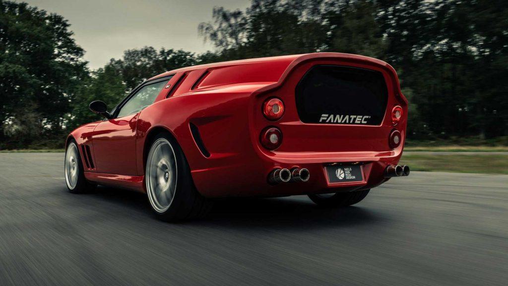 Новый Ferrari Breadvan Hommage, вид сзади