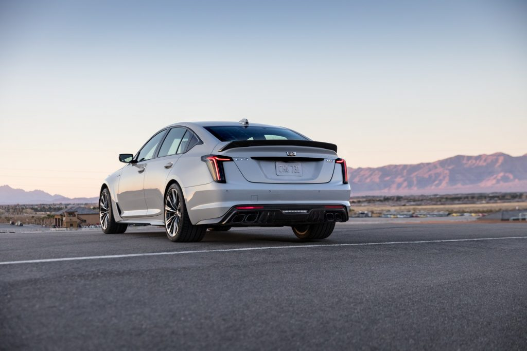 Cadillac CT5-V Blackwing 2021, вид сзади