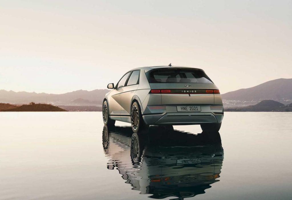 Hyundai Ioniq 5 2021, вид сзади