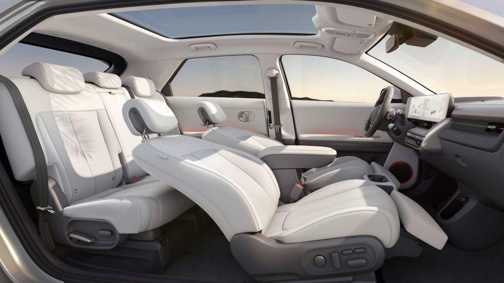 Hyundai Ioniq 5 2021, салон