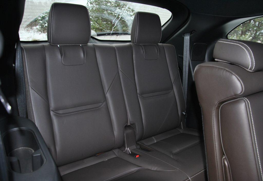 Mazda CX-9 2021, третий ряд сидений