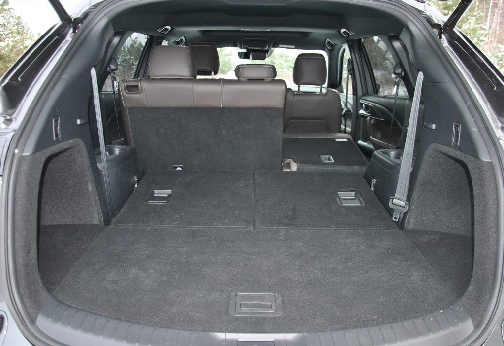 Mazda CX-9 2021, багажник