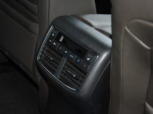 Mazda CX-9, блок климата для задних пассажиров
