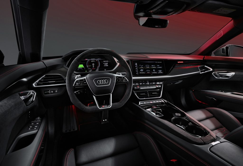 Audi e-tron GT 2021, салон