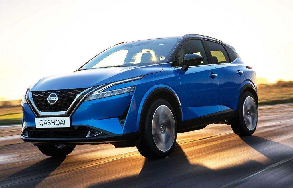 Nissan Qashqai 2021, вид спереди