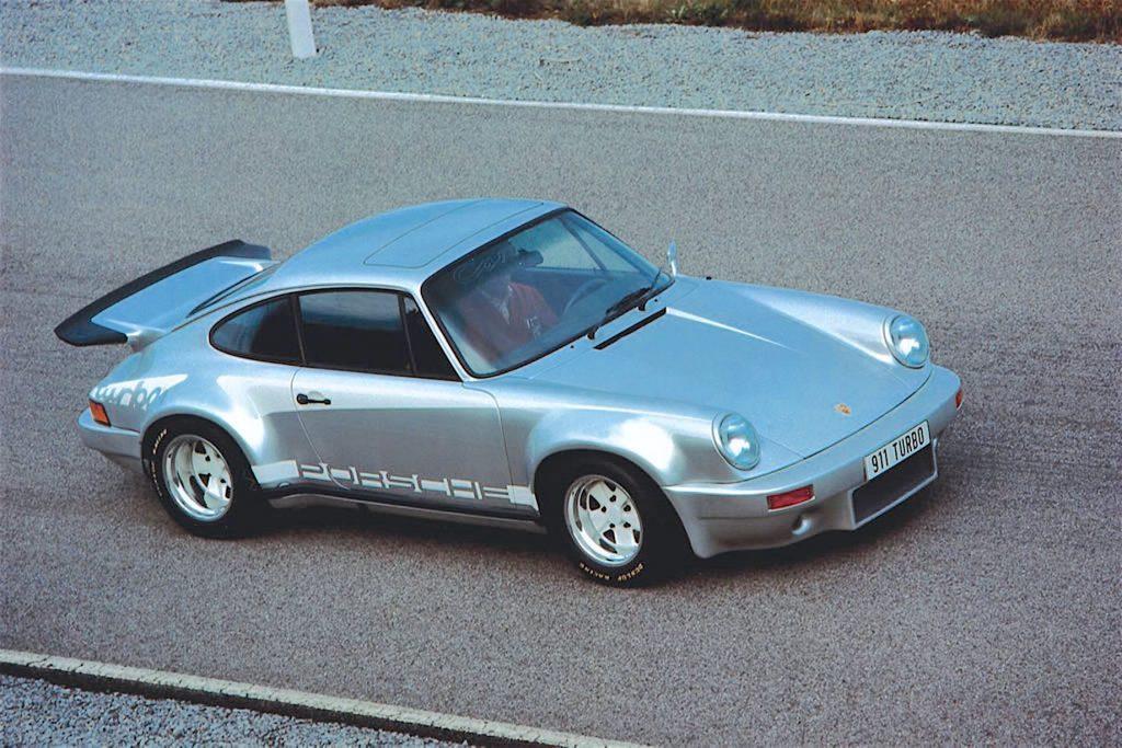 Прототип Porsche 911 Turbo, 1973 год