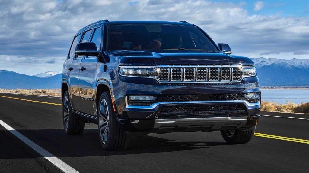 Jeep Wagoneer 2021, вид спереди