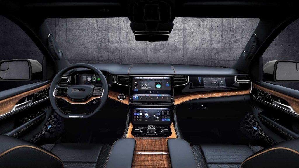 Jeep Grand Wagoneer 2021, передняя панель