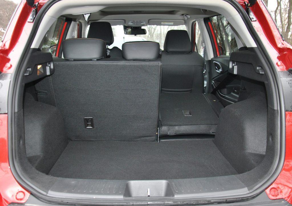 Новый JAC S4, багажник