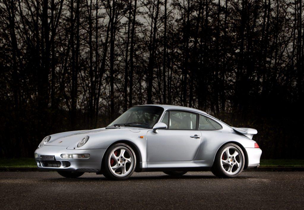 Porsche 911 Turbo 1995 года