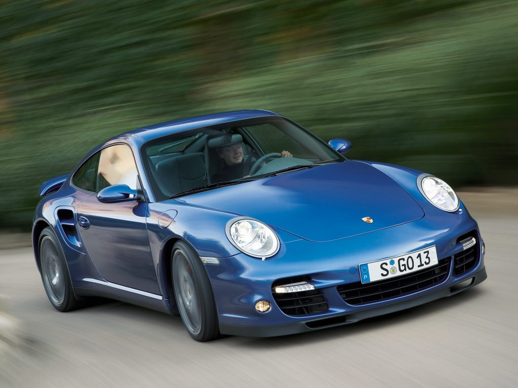 Porsche 911 Turbo 2006 года