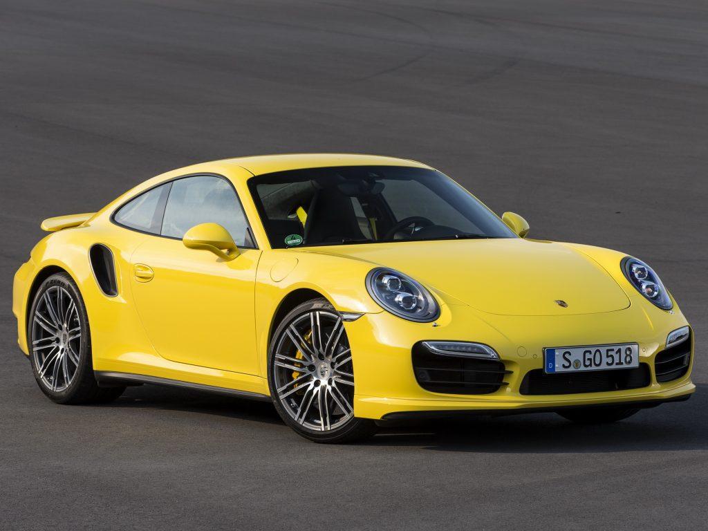 Porsche 911 Turbo 2013 года