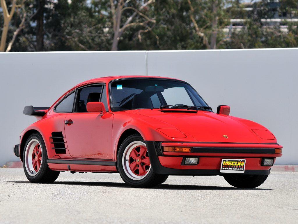 Porsche 911 Turbo Flachbau 1986 года