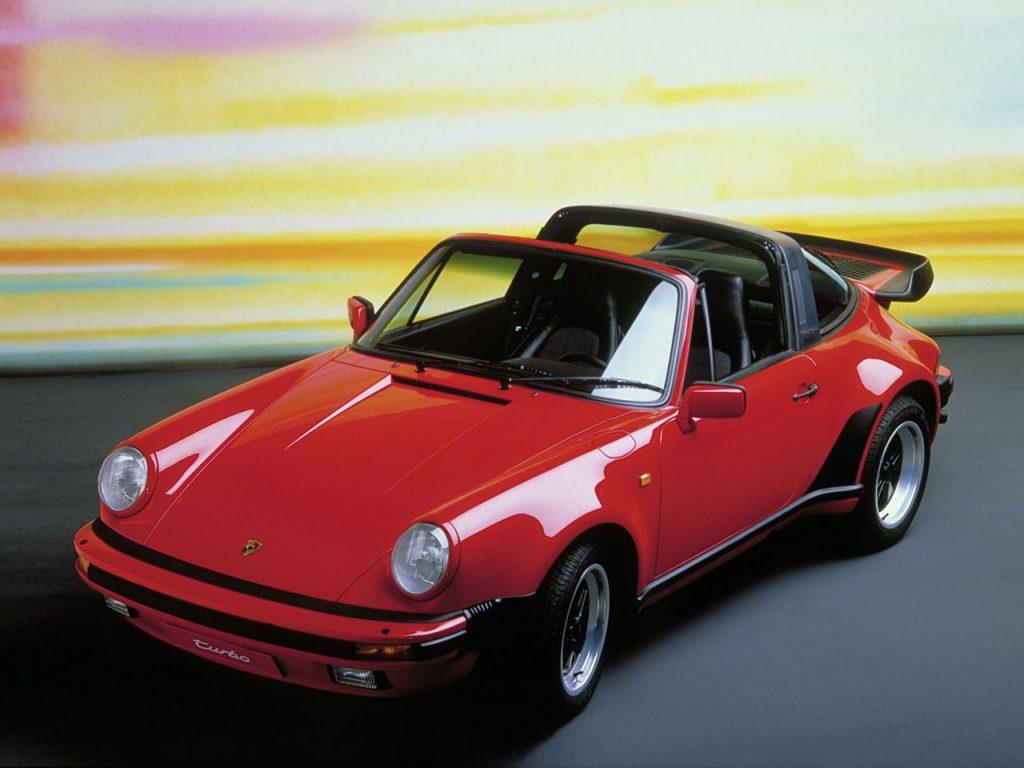 Porsche 911 Turbo Targa, 1987 год
