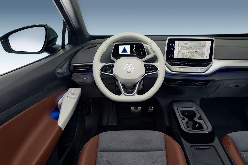 Volkswagen ID.4 2021, передняя панель