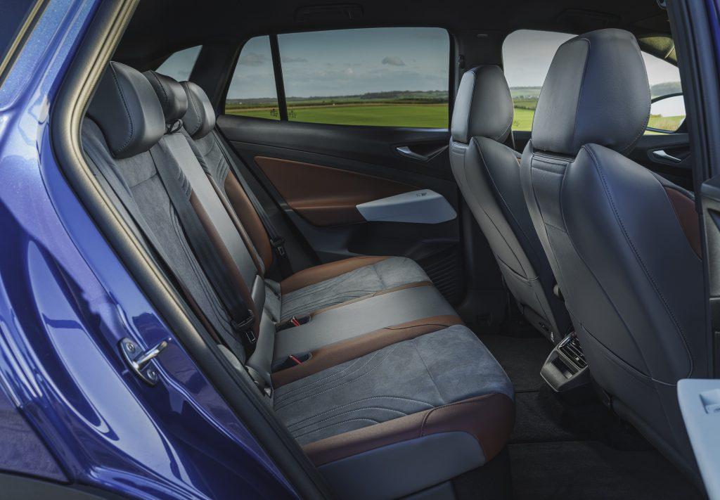 Новый Volkswagen ID.4, задние сиденья