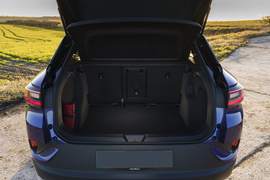 Новый Volkswagen ID.4, багажник