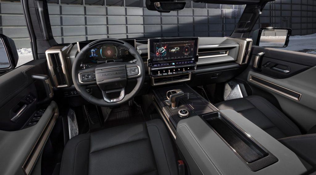 GMC Hummer SUV, салон