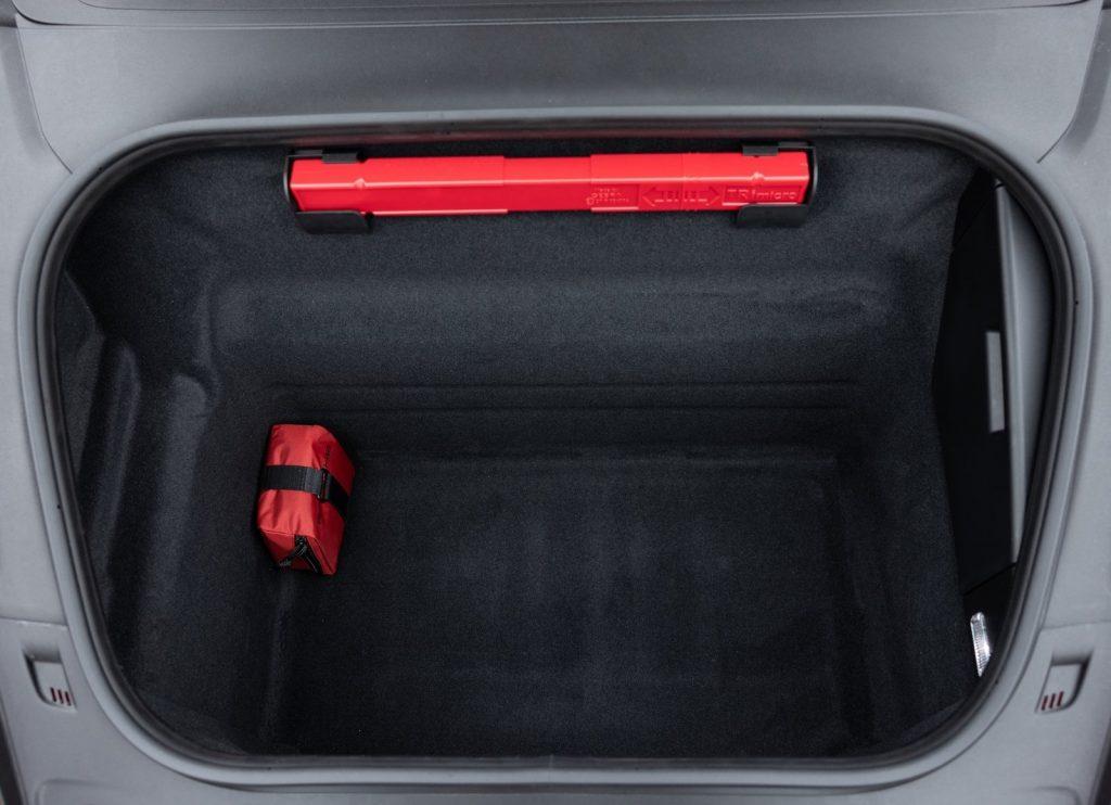 Новый Porsche 911 GT3, багажник