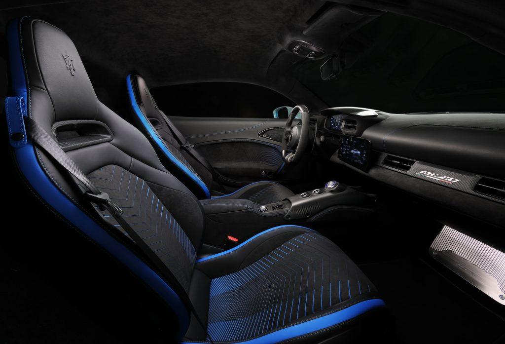Новый Maserati MC20, сиденья