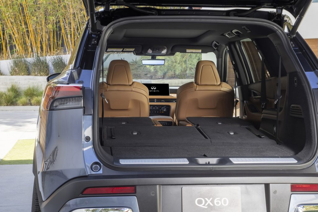 Новый Infiniti QX60, багажник