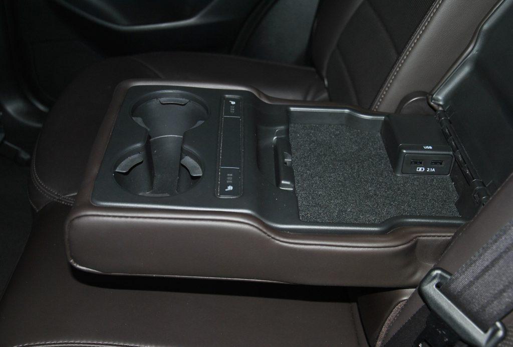 Mazda CX-5, задний подлокотник