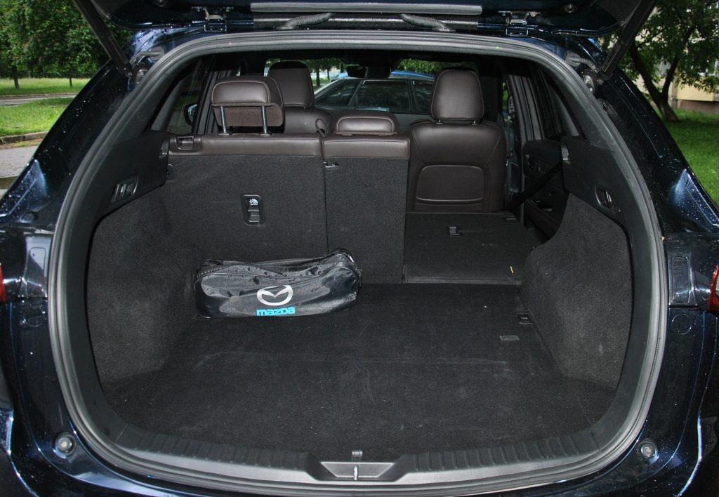 Новая Mazda CX-5, багажник
