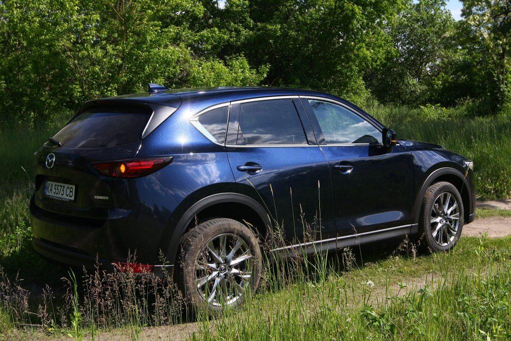 Mazda CX-5, вид на заднюю диагональ