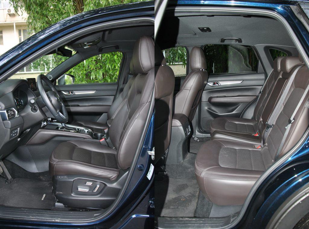 Новая Mazda CX5, сиденья