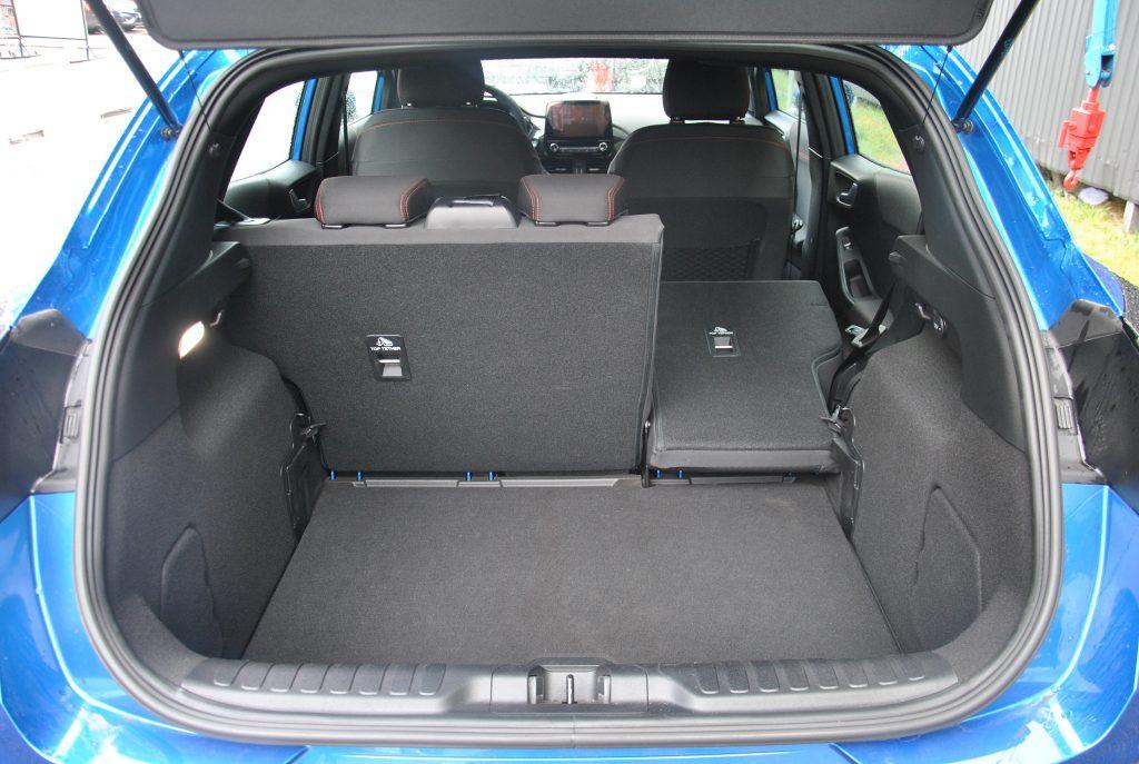 Новый Ford Puma, багажник