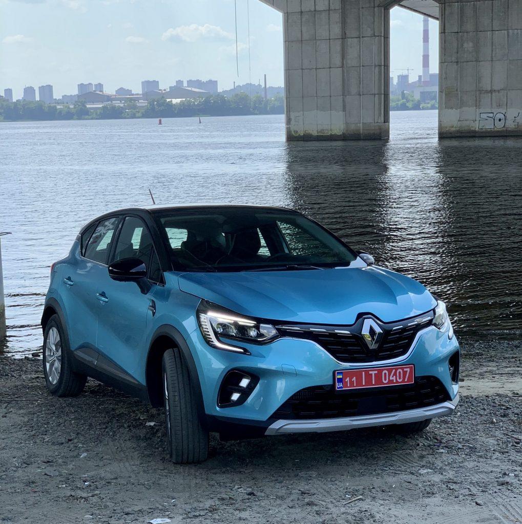Renault Captur 2021, вид спереди