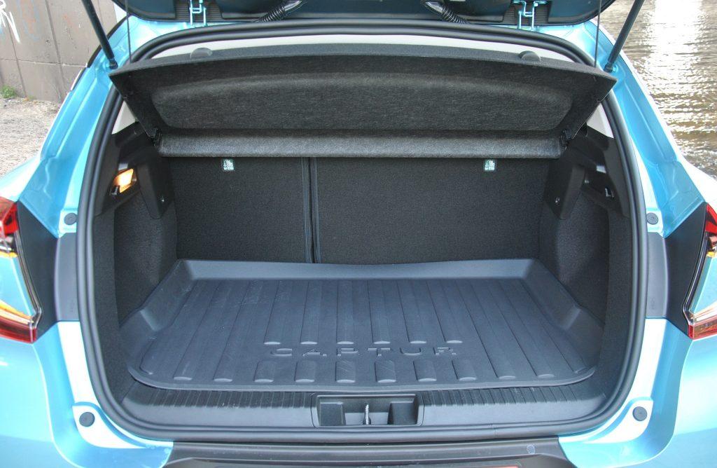 Новый Renault Captur, багажник